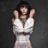 "Collier "" colombe "" en vente sur mon site www.martinebrun.com @martinebrunjewelry photo @jacques_dussaux 😘 modèle @mariegrippon 😍 #collection #collierfemme #gold #bijoux #fashion #madeinfrance #accessoiresfemme #hautefantaisiejewelery #siteweb #parisienne #mode #madeinfrance #boutique #luxe"